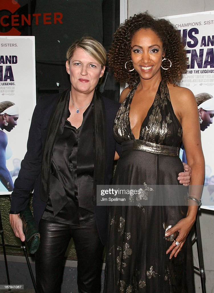 Directors Maiken Baird and Michelle Major attend the 'Venus And Serena' New York Screening at IFC Center on May 2, 2013 in New York City.
