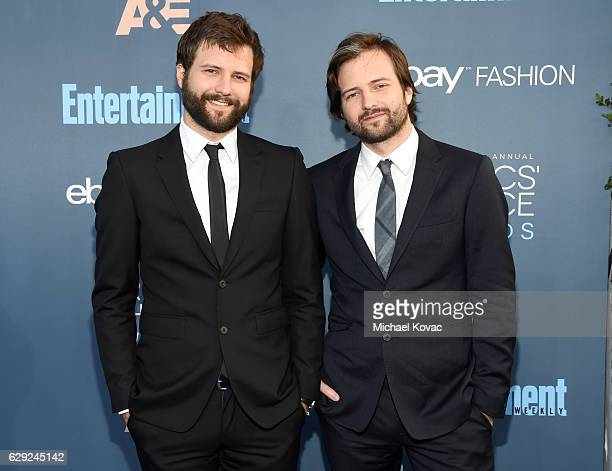 Directors Matt Duffer and Ross Duffer attend The 22nd Annual Critics' Choice Awards at Barker Hangar on December 11 2016 in Santa Monica California