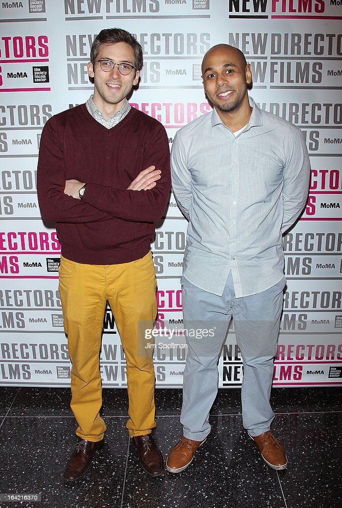 Directors Neil Dvorak and Bracey Smith attend the New Directors/New Films 2013 Opening Night screening of 'Blue Caprice' at the Museum of Modern Art on March 20, 2013 in New York City.