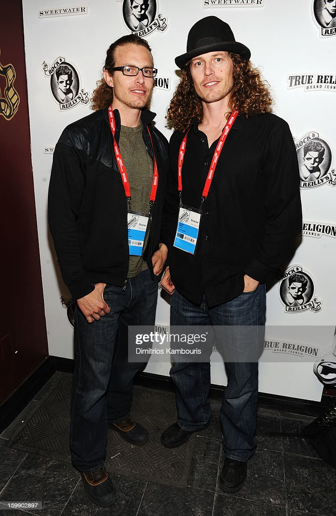 Directors Noah Miller and Logan Miller attend the Sweetwater official cast and filmmakers party sponsored by True Religion on January 22, 2013 in Park City, Utah.