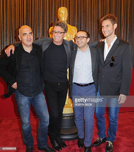 Directors of Oscarnominated foreign language films Zaza Urushadze for 'Tangerines' Pawel Pawlikowski for 'Ida' Andrey Zvyagintsev for 'Leviathan' and...