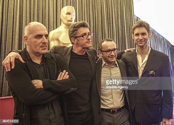 Directors of Oscarnominated foreign language films Zaza Urushadze for the film ''Tangerines'' of Estonia Pawel Pawlikowski for the film ''Ida'' of...