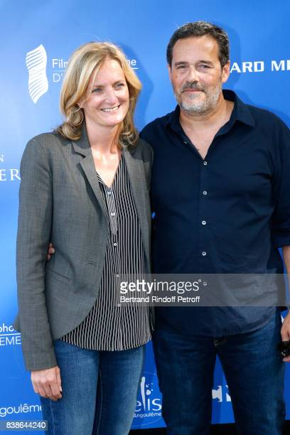 Directors of the movie 'Le rire de ma mere' Colombe Savignac and Pascal Ralite attend the 10th Angouleme FrenchSpeaking Film Festival Day Three on...