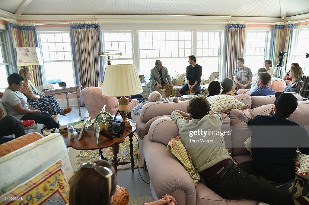 Directors Oliver Stone and Bennett Miller attend the Mentors Brunch during the 2016 Nantucket Film Festival Day 4 on June 25, 2016 in Nantucket, Massachusetts.