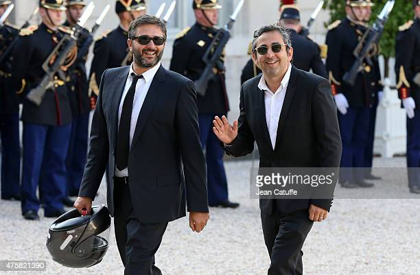 Directors Olivier Nakache and Eric Toledano arrive at the State Dinner offered by French President Francois Hollande in honor to the King and Queen...