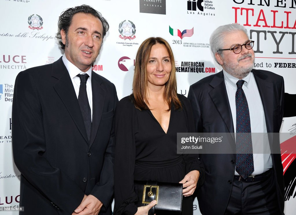 Directors <a gi-track='captionPersonalityLinkClicked' href=/galleries/search?phrase=Paolo+Sorrentino&family=editorial&specificpeople=615140 ng-click='$event.stopPropagation()'>Paolo Sorrentino</a>, <a gi-track='captionPersonalityLinkClicked' href=/galleries/search?phrase=Maria+Sole+Tognazzi&family=editorial&specificpeople=830504 ng-click='$event.stopPropagation()'>Maria Sole Tognazzi</a> and Roberto Ando attend Cinema Italian Style 2013 'The Great Beauty' opening night premiere at the Egyptian Theatre on November 14, 2013 in Hollywood, California.