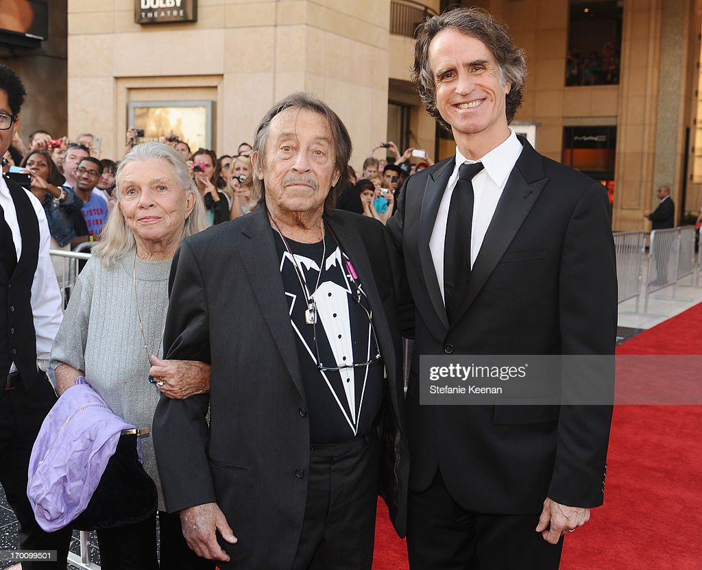 Directors Paul Mazursky (C) and Jay Roach attend AFI's 41st Life Achievement Award Tribute to Mel Brooks at Dolby Theatre on June 6, 2013 in Hollywood, California. 23647_003_SK_0597.JPG