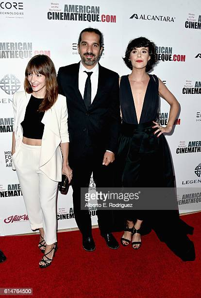 Directors Paula Ortiz and Javier Ruiz Caldera and actress Belen Cuesta attend the 30th Annual American Cinematheque Awards Gala at The Beverly Hilton...