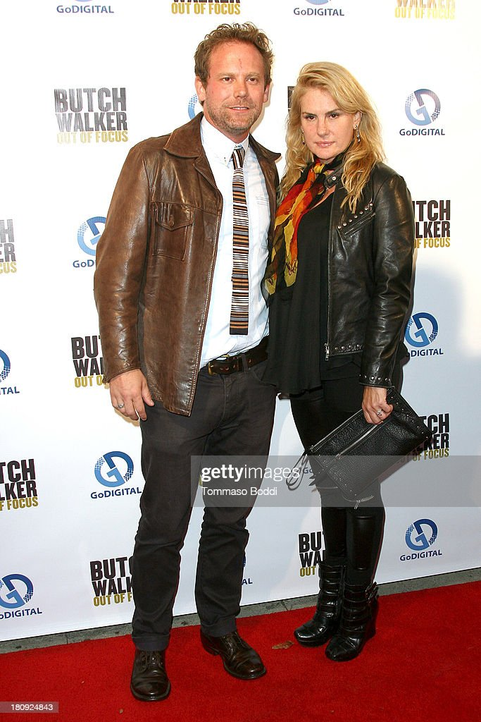 Directors Peter Harding (L) and Salome Breziner attend the 'Butch Walker: Out Of Focus' Los Angeles premiere at Laemmle's Music Hall 3 on September 17, 2013 in Beverly Hills, California.