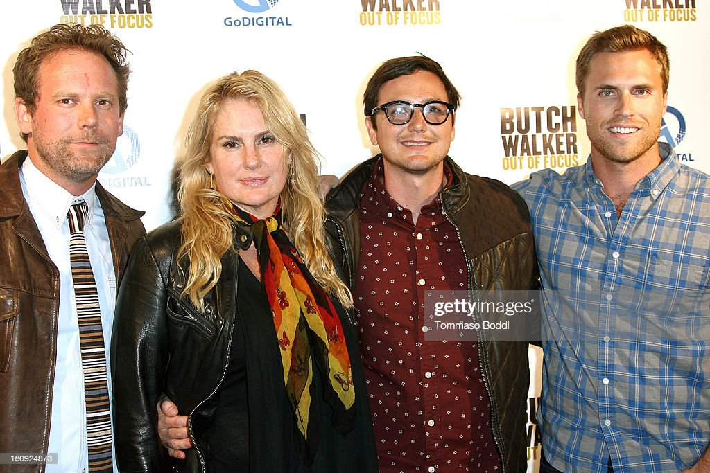 Directors Peter Harding, Salome Breziner, Shane Valdes and GoDigital CEO Logan Mulvey attend the 'Butch Walker: Out Of Focus' Los Angeles premiere at Laemmle's Music Hall 3 on September 17, 2013 in Beverly Hills, California.