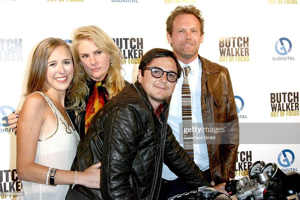 Directors Peter Harding, Shane Valdes, Salome Breziner and guest attend the 'Butch Walker: Out Of Focus' Los Angeles premiere at Laemmle's Music Hall 3 on September 17, 2013 in Beverly Hills, California.