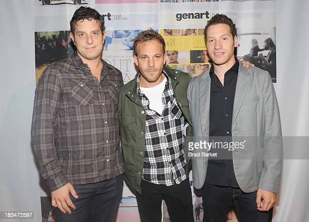 Directors producers Alan Polsky and Gabe Polsky pose with actor Stephen Dorff during the 18th Annual Genart Film Festival Closing Night She Loves Me...