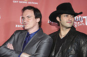 Directors Quentin Tarantino and Robert Rodriguez arrive at Spike TV's 'Scream 2007' held at The Greek Theatre on October 19 2007 in Los Angeles...