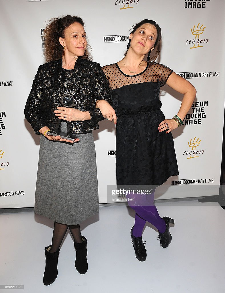 Directors Rachel Grady and Heidi Ewing attend 6th Annual Cinema Eye Honors For Nonfiction Filmmaking at Museum of the Moving Image on January 9, 2013 in New York City.