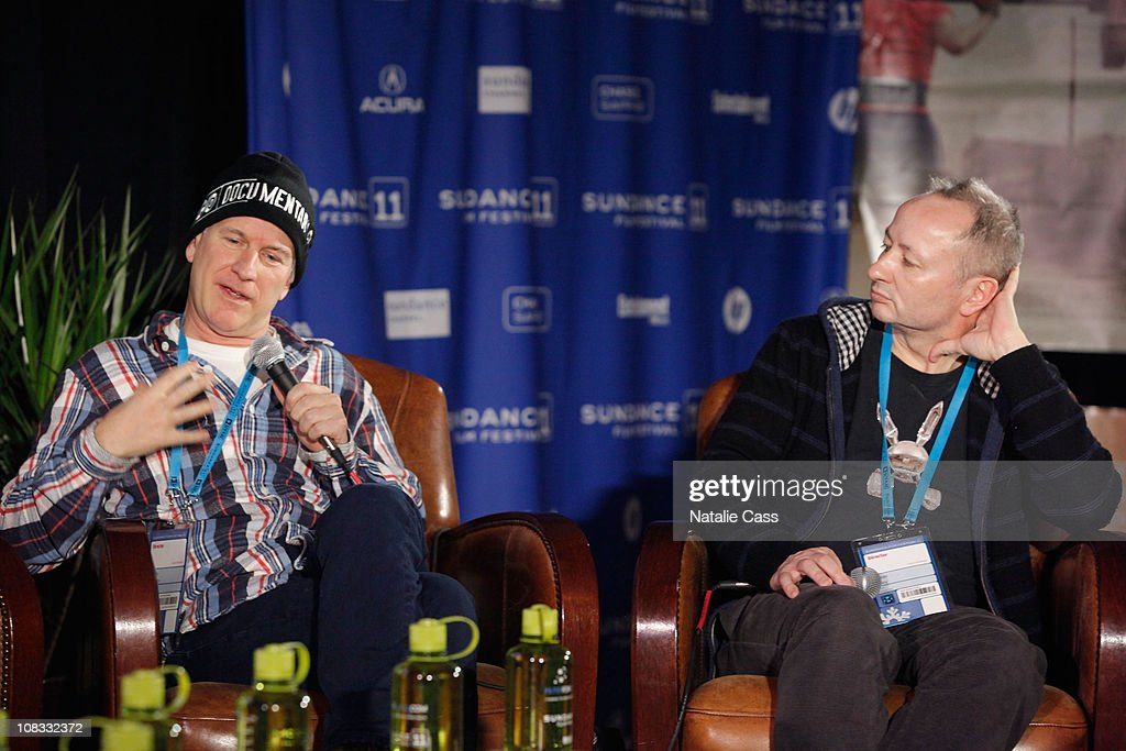 Directors Randy Barbato and Director Fenton Bailey speak at the GLAAD Panel at the Filmmaker Lodge during the 2011 Sundance Film Festival on January 25, 2011 in Park City, Utah.