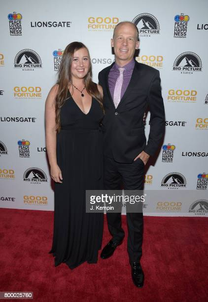 Directors Rebecca Tickell and Josh Tickell attend the 'Good Fortune' New York Premiere at AMC Loews Lincoln Square 13 theater on June 22 2017 in New...