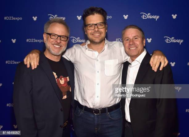 Directors Rich Moore and Phil Johnston and producer Clark Spencer of RALPH BREAKS THE INTERNET WRECKIT RALPH 2 took part today in the Walt Disney...