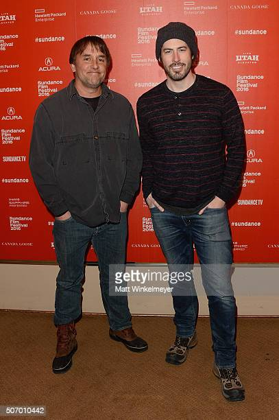 Directors Richard Linklater and Jason Reitman attend the 'Dazed And Confused' Special Screening during the 2016 Sundance Film Festival at Egyptian...