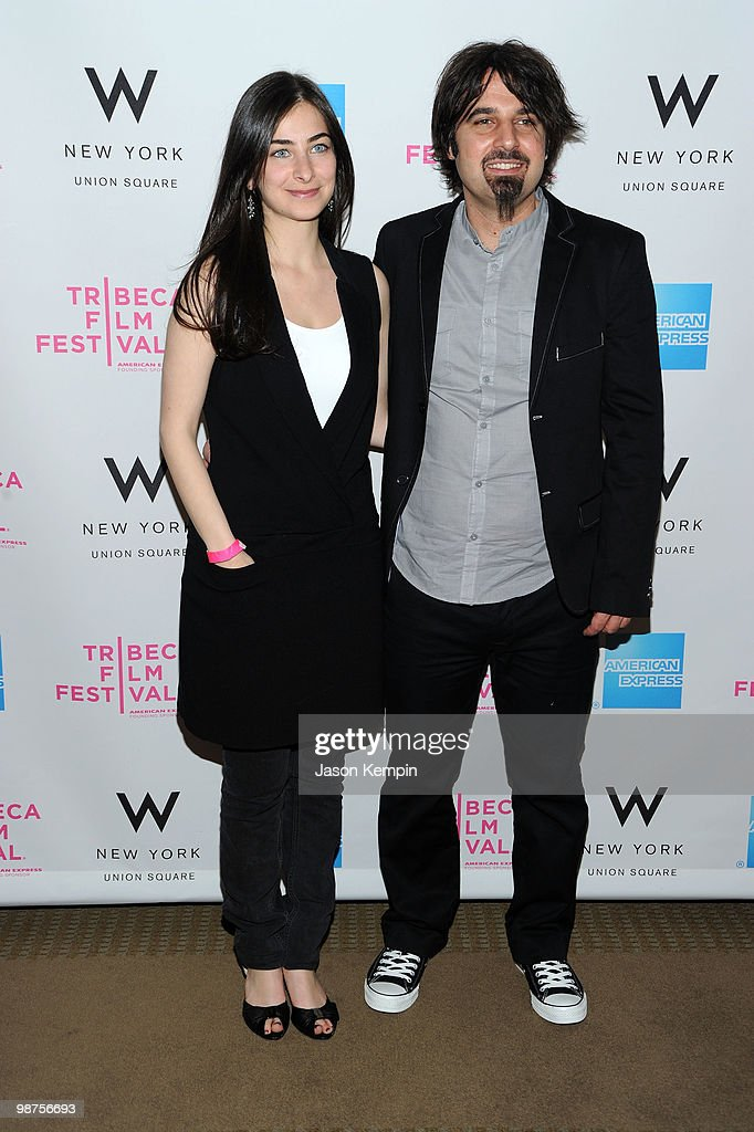 Directors Sara Zandieh and Scandar Copti attend the Awards Night Show & Party during the 2010 Tribeca Film Festival at the W New York - Union Square on April 29, 2010 in New York City.