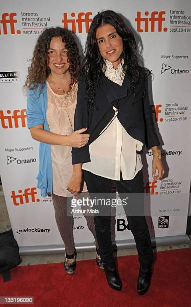 Directors Tatiana von Furstenberg and Francesca Gregorini attend the 'Tanner Hall' Premiere at the Isabel Bader Theatre during the 2009 Toronto...