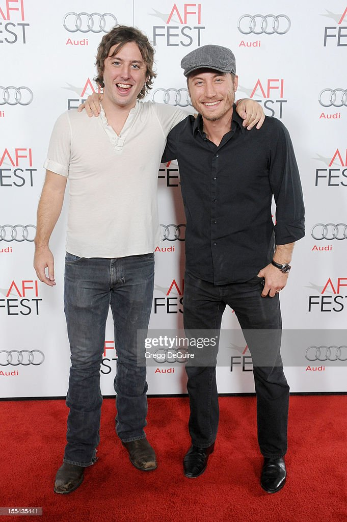 Director's Turner Ross and Bill Ross arrives at the special screening of 'Holy Motors' during the 2012 AFI FEST at Grauman's Chinese Theatre on November 3, 2012 in Hollywood, California.