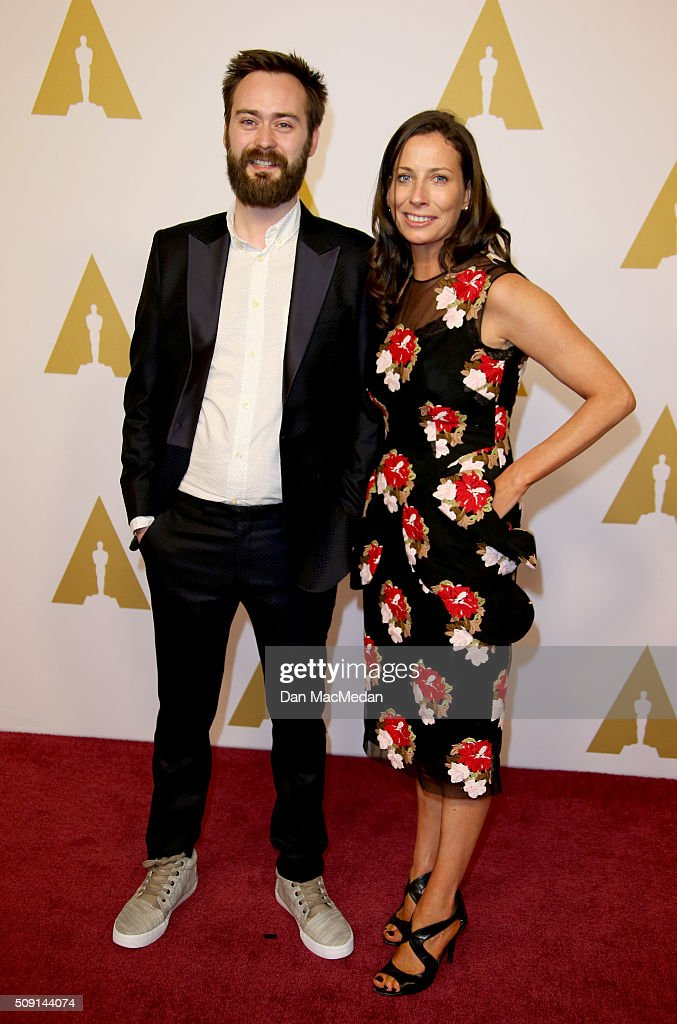 Director/screenwriter Benjamin Cleary and producer Serena Armitage attend the 88th Annual Academy Awards Nominee Luncheon in Beverly Hills California