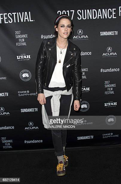 Director/Screenwriter Kristen Stewart attends the Premiere of her movie 'Come Swim' at 2017 Sundance Film Festival in Park City Utah January 19 2017...