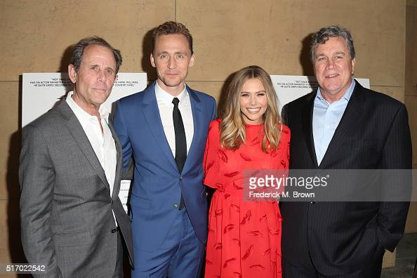 Director/Screenwriter Marc Abraham Actor Tom Hiddleston Actress Elizabeth Olsen and CoPresident and CoFounder of Sony Pictures Classics Tom Bernard...
