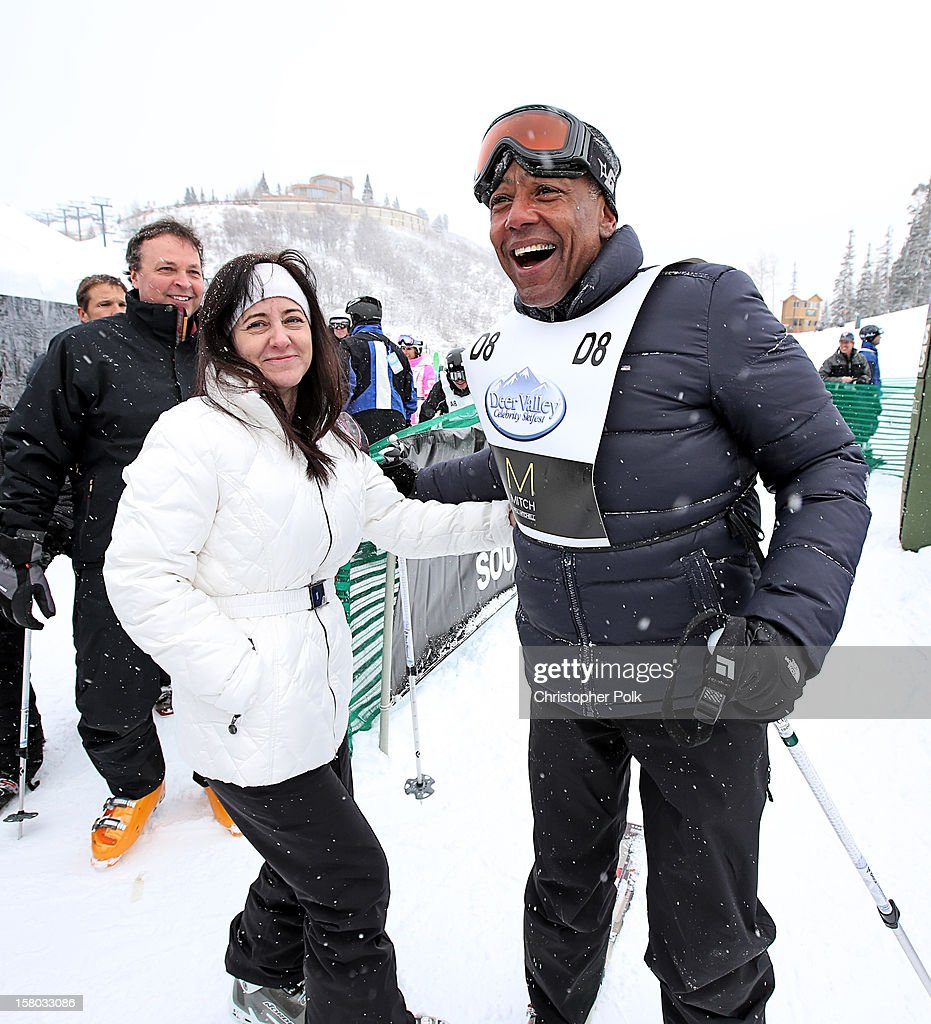 Director/Screenwriter/Producer Bobby Farrelly, Terry Barone and actor Giancarlo Esposito attend the Deer Valley Celebrity Skifest at Deer Valley Resort on December 9, 2012 in Park City, Utah.