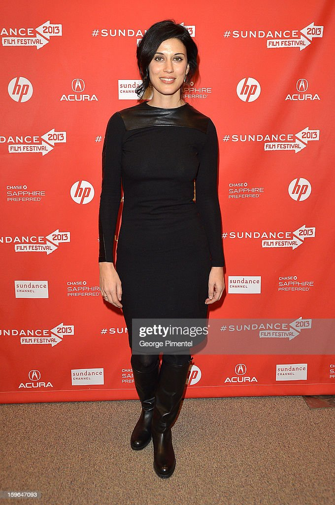 Director/screenwriter/producer/actress Cherien Dabis attends the 'May In The Summer' premiere during the 2013 Sundance Film Festival at Eccles Center Theatre on January 17, 2013 in Park City, Utah.