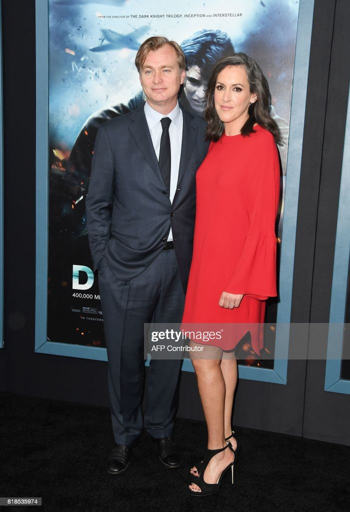 Director/writer Christopher Nolan and producer Emma Thomas attend the Warner Bros. Pictures 'DUNKIRK' US premiere at AMC Loews Lincoln Square on July 18, 2017 in New York City. /