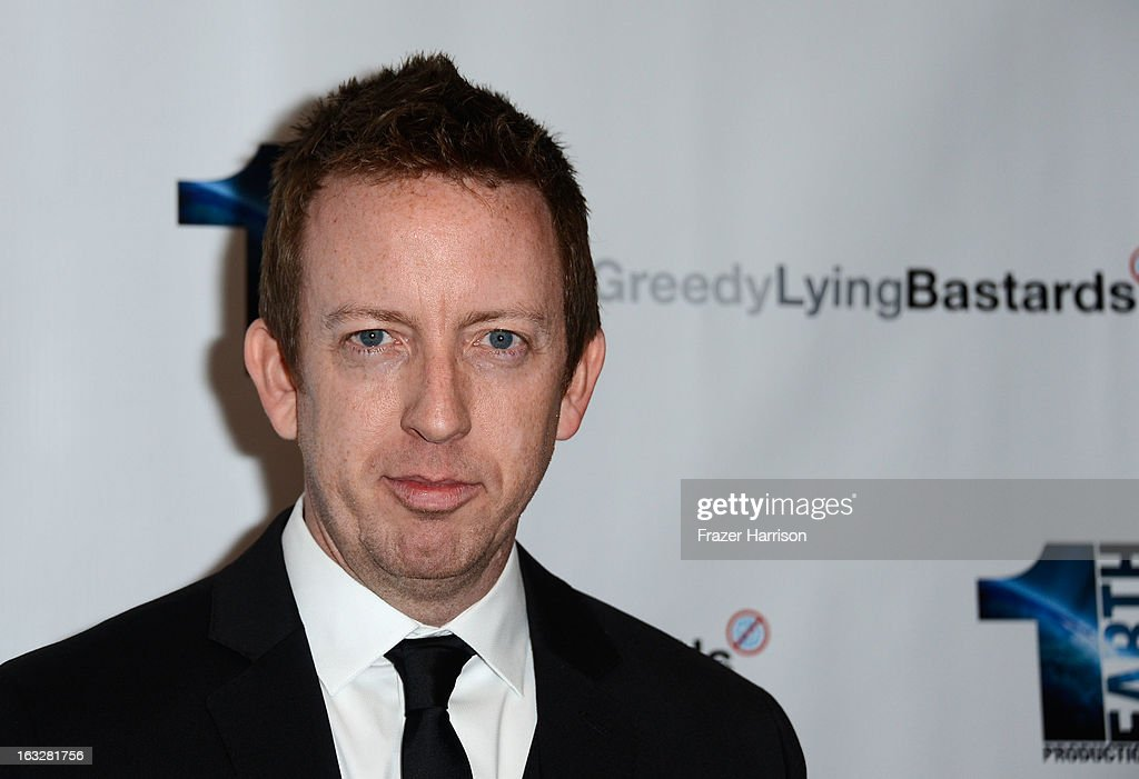 Director/Writer Craig Scott Rosebraugh arrives at the screening of 'Greedy Lying Bastards' at Harmony Gold Theatre on March 6, 2013 in Los Angeles, California.