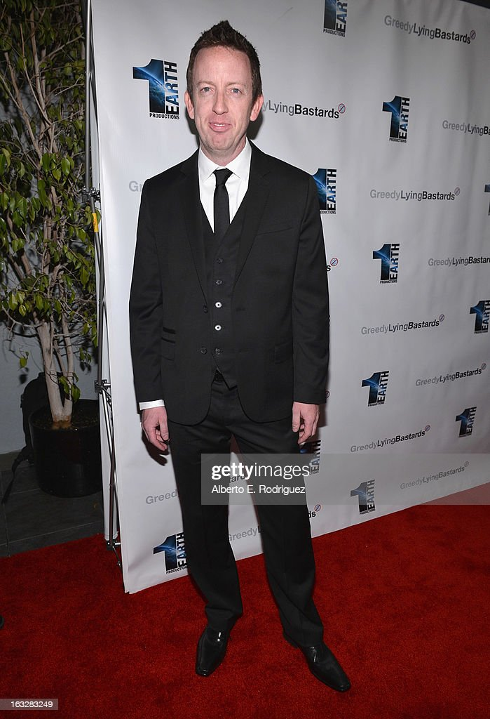 Director/writer Craig Scott Rosenbaugh attend a screening of 1 Earth Productions' 'Greedy Lying Bastards' at Harmony Gold Theatre on March 6, 2013 in Los Angeles, California.