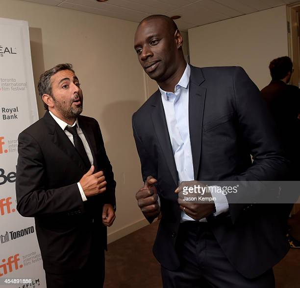 Director/writer Eric Toledano and actor Omar Sy attend the 'Samba' premiere during the 2014 Toronto International Film Festival at Roy Thomson Hall...