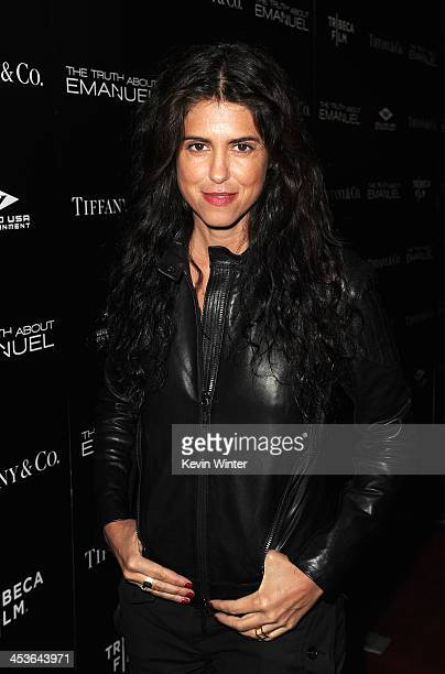 Director/Writer Francesca Gregorini arrives at the premiere of Tribeca Film and Well Go USA's 'The Truth About Emanuel' at ArcLight Hollywood on...