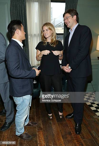 Director/Writer Hong Khaou Actress Alice Eve and FrancoisOlivier Luiggi General Manager Langham Place Fifth Avenue at Langham Hospitality Group...
