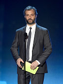 Director/writer Judd Apatow speaks onstage during the 21st Annual Critics' Choice Awards at Barker Hangar on January 17 2016 in Santa Monica...