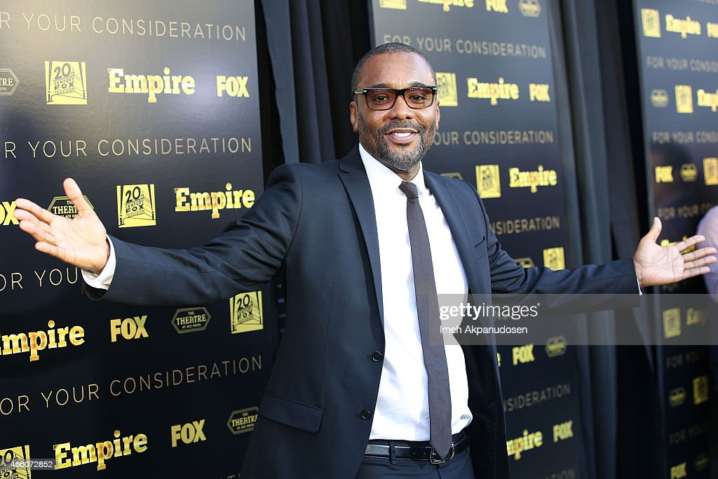 Director/writer Lee Daniels attends Fox's 'Empire' ATAS Academy event at The Theatre At The Ace Hotel on March 12 2015 in Los Angeles California