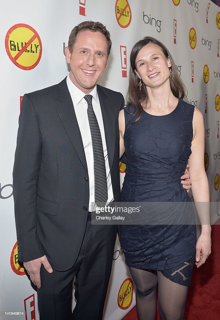 Director/writer Lee Hirsch and producer/writer Cynthia Lowen arrive at the Los Angeles Premiere of 'Bully' at Mann Chinese 6 on March 26, 2012 in Los Angeles, California.