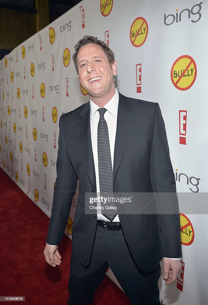 Director/writer Lee Hirsch arrives at the Los Angeles Premiere of 'Bully' at Mann Chinese 6 on March 26, 2012 in Los Angeles, California.