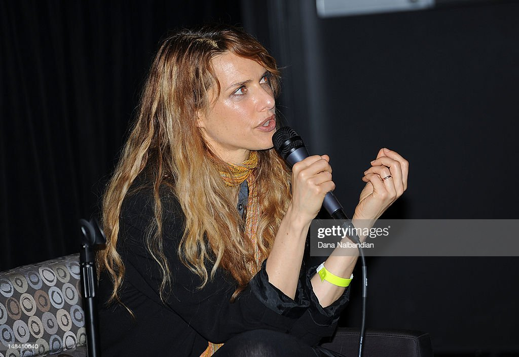 Director/writer Lynn Shelton speaks at the Sundance Institute Shorts Lab at SIFF Cinema on July 15, 2012 in Seattle, Washington.