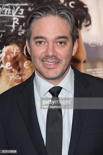 Director/Writer Matt Brown attends 'The Man Who Knew Infinity' New York Screening at the Chelsea Bow Tie Cinemas on April 27 2016 in New York City