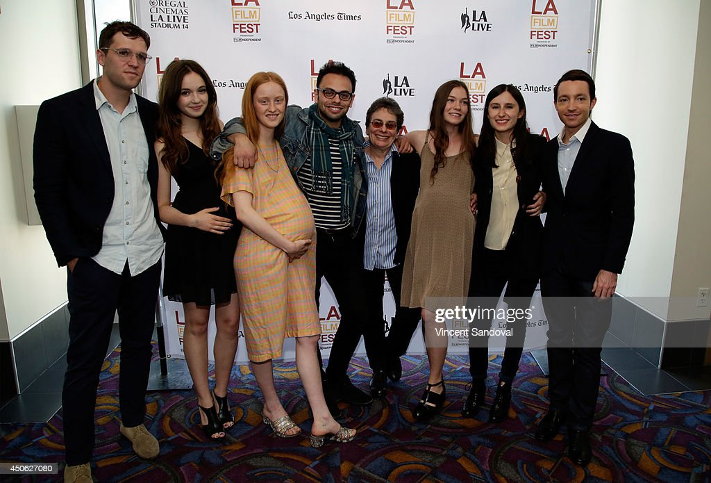 Director/writer Nathan Silver and guests attend the premiere of 'Uncertain Terms' during the 2014 Los Angeles Film Festival at Regal Cinemas LA Live...