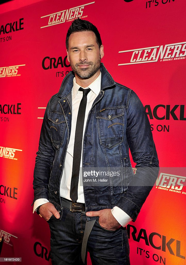 Director/writer Paul Leyden attends the premiere of Crackle's new original digital series 'Cleaners' at the Cary Grant Theater on the Sony Pictures Studio lot on September 26, 2013 in Culver City, California.
