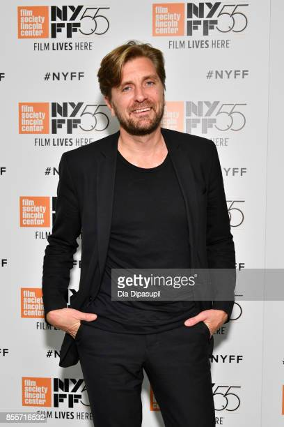 Director/writer Ruben Ostlund attends the premiere of 'The Square' during the 55th New York Film Festival at Alice Tully Hall Lincoln Center on...