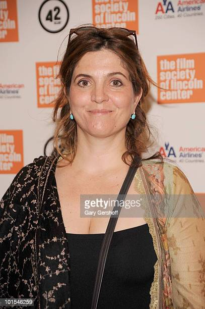 Director/writer/actor Agnes Jaoui attends The Film Society Of Lincoln Center screening of 'Let It Rain' at the Walter Reade Theater on June 1 2010 in...