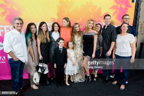 Director/Writer/Actress Marianna Palka Actor Jason Maybaum Actor Rio Mangini Actress Kingston Foster and Actress Brighton Sharbino and family arrive...