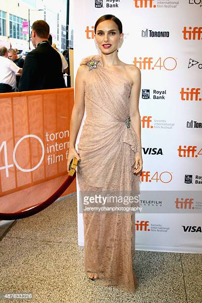Director/Writer/Actress Natalie Portman attends the 'A Tale Of Love And Darkness' premiere during the 2015 Toronto International Film Festival at...