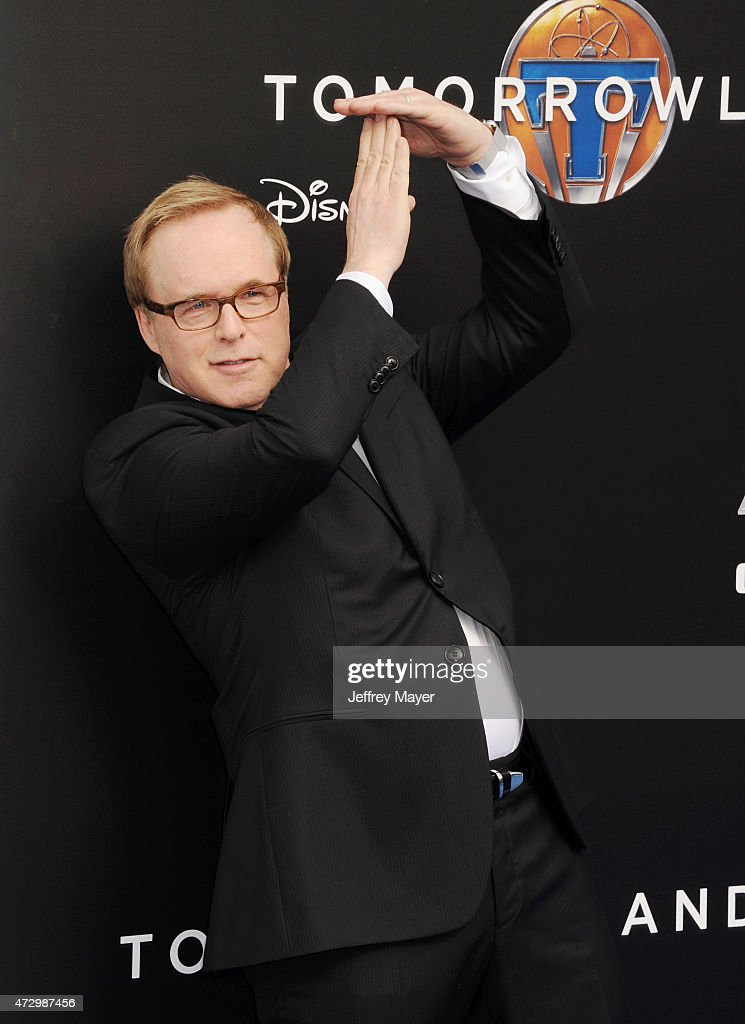 Director/writer/producer <a gi-track='captionPersonalityLinkClicked' href=/galleries/search?phrase=Brad+Bird&family=editorial&specificpeople=206750 ng-click='$event.stopPropagation()'>Brad Bird</a> attends Disney's 'Tomorrowland' - Los Angeles Premiere at AMC Downtown Disney 12 Theater on May 9, 2015 in Anaheim, California.