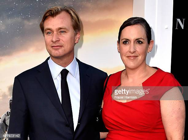 Director/writer/producer Christopher Nolan and producer Emma Thomas attends the 'Interstellar' Los Angeles premiere at TCL Chinese Theatre IMAX on...